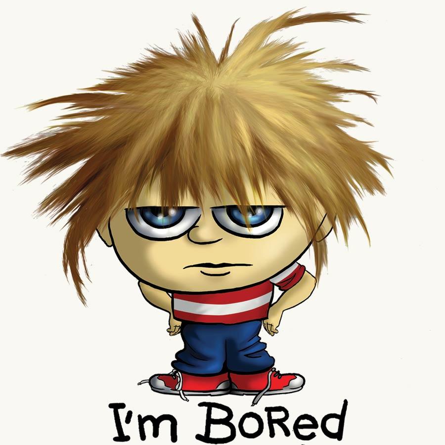 I'm Bored cartoon