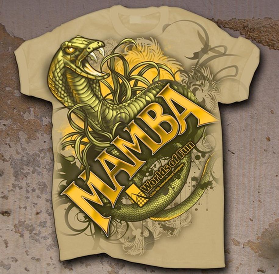 mamba snake t-shirt