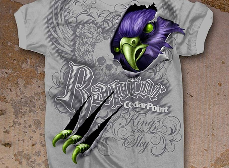 Raptor Bird T-shirt