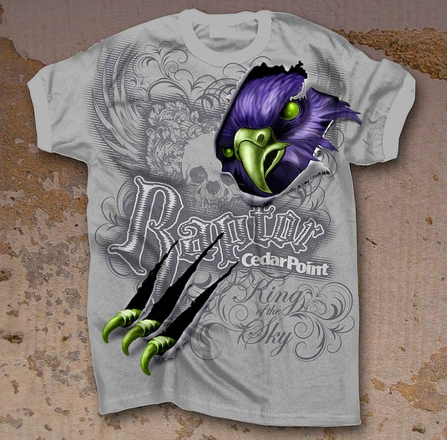 Raptor Bird T-shirt
