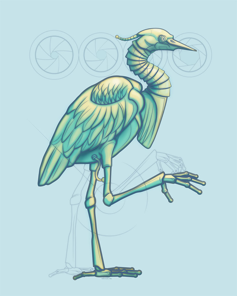 """Featured image for """"Blue Heron 3000 Revised"""""""