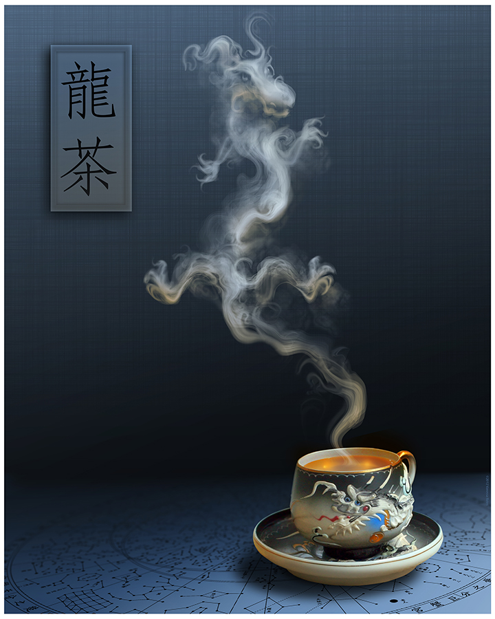 Dragon Tea Blue