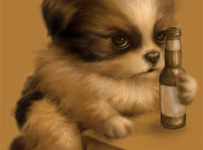 Grumpy Puppy