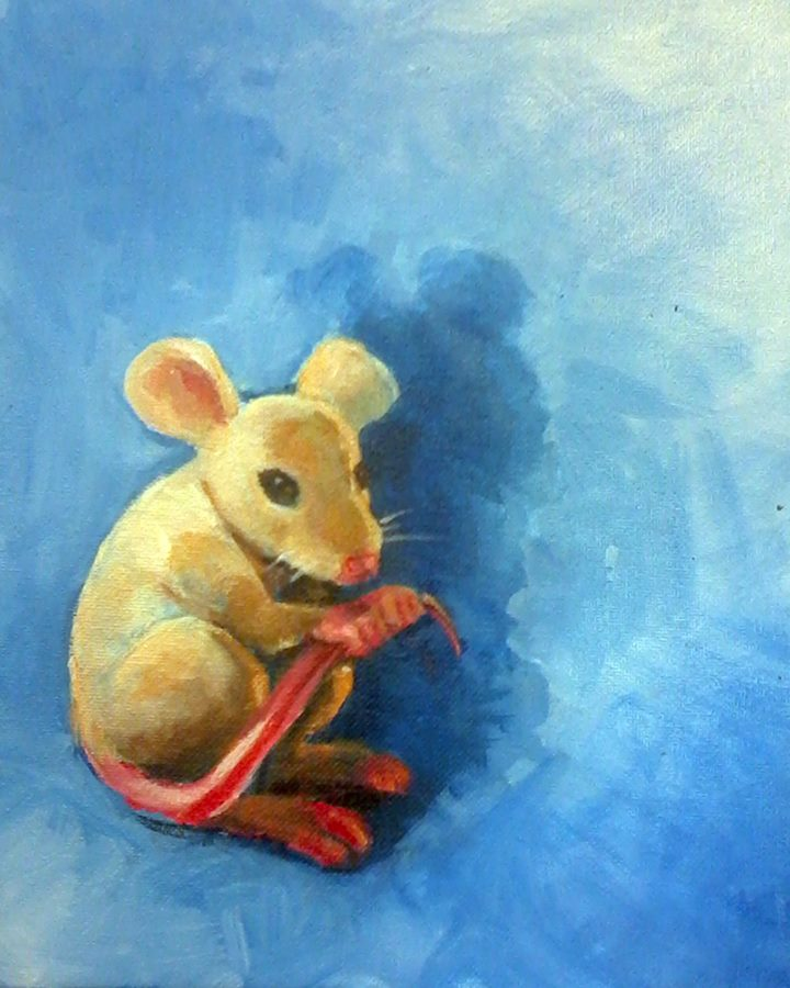 Study of a Worried Mouse