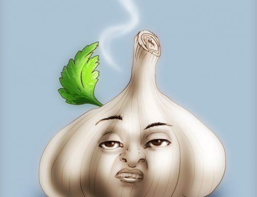 Day 7 Garlic Doodle