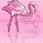 Pink Flamingo 3000