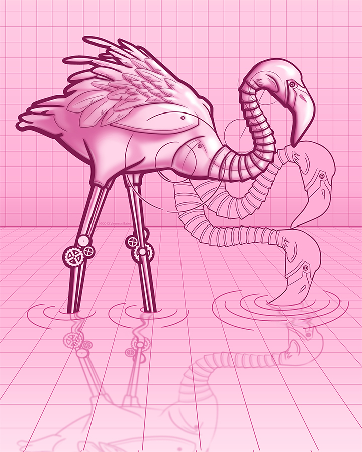 """Featured image for """"Pink Flamingo 3000"""""""