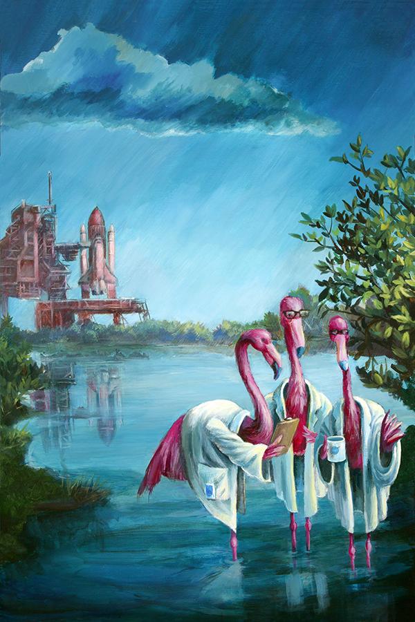 "Featured image for ""If Flamingos Ran NASA…"""