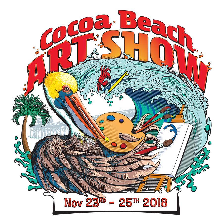 "Featured image for ""Cocoa Beach Art Fair 2018"""