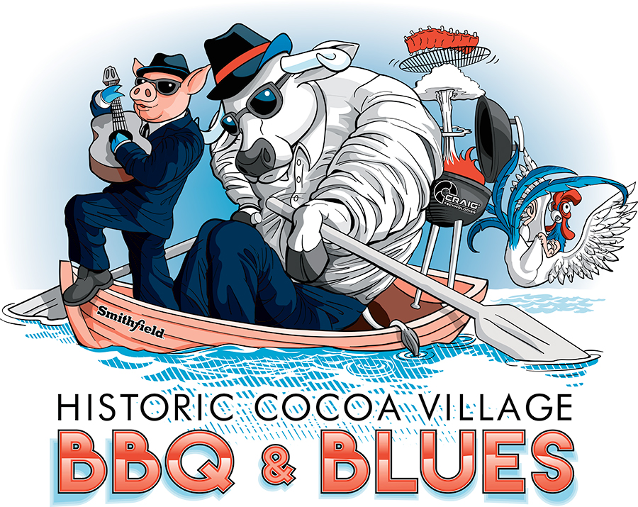 """Featured image for """"Cocoa Village BBQ and Blues Design"""""""