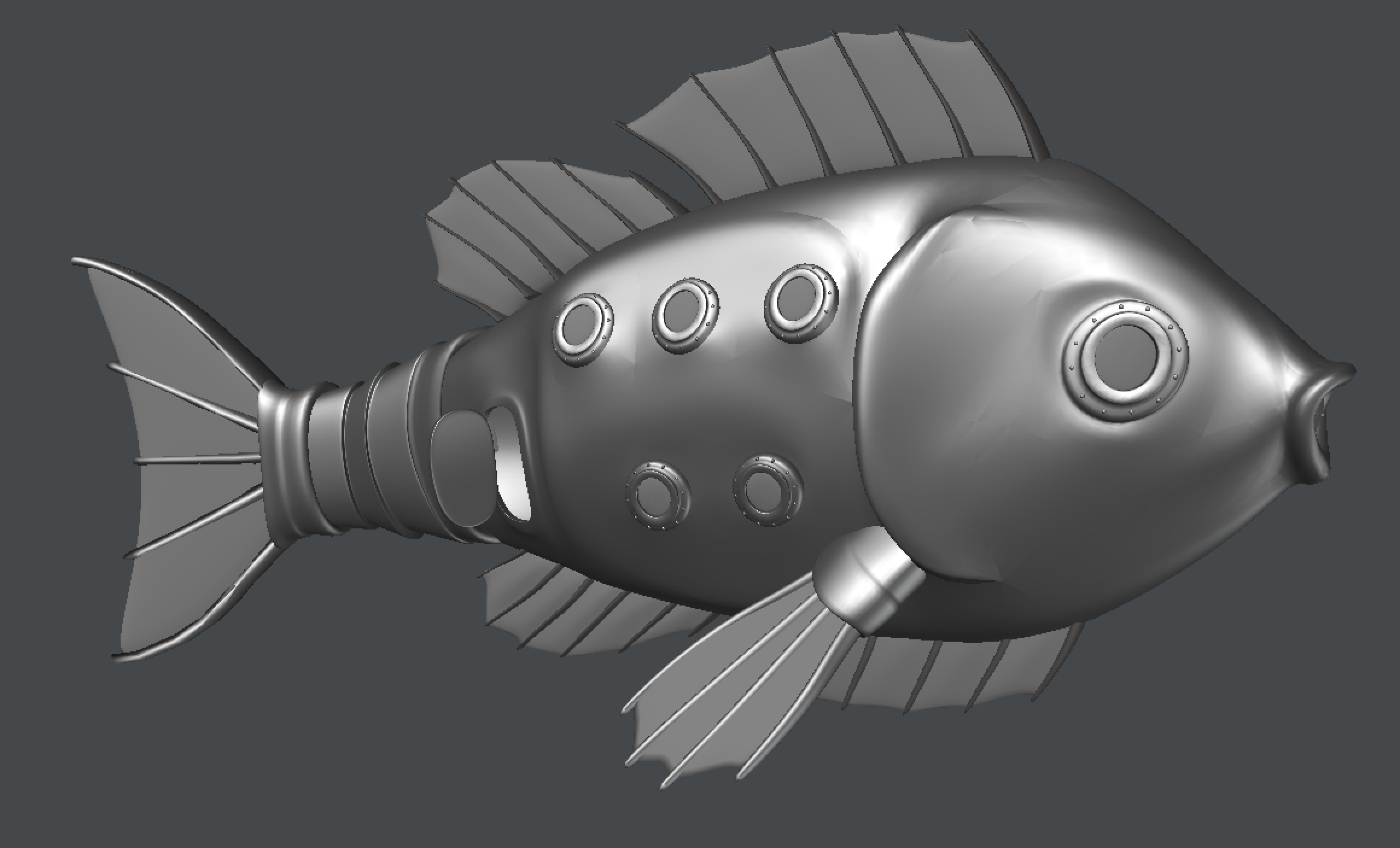 """Featured image for """"Mechanical Fish Transportation System"""""""