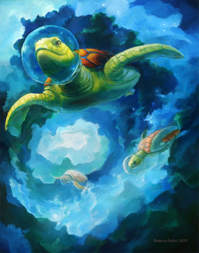 """Featured image for """"Turtles in Space Redux"""""""