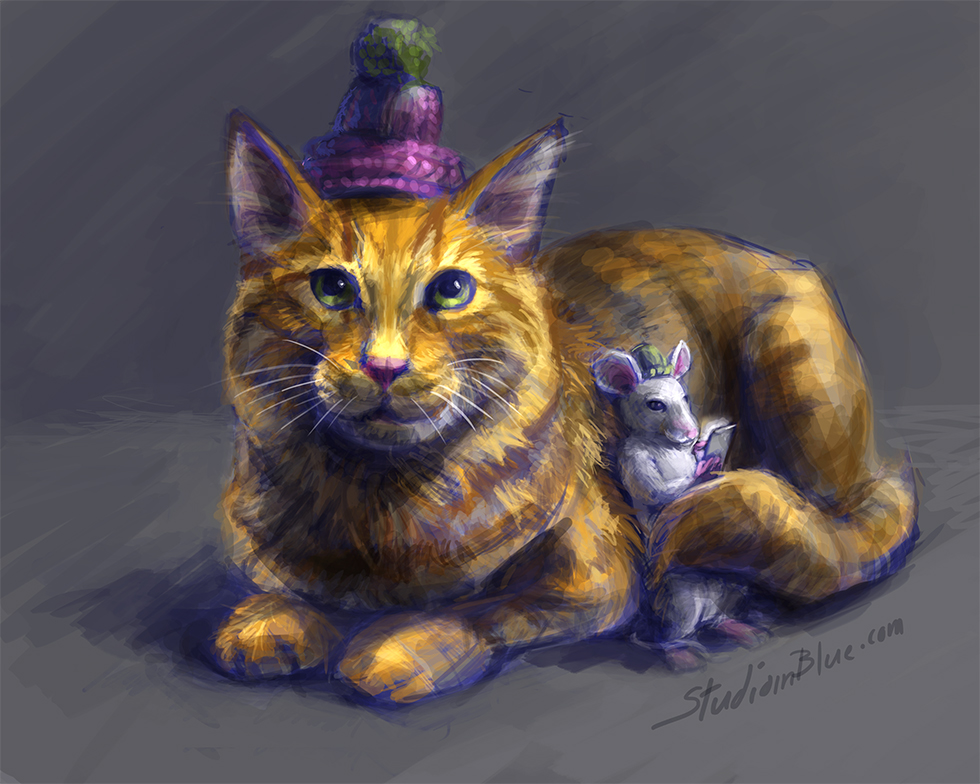 """Featured image for """"Cat and Mouse"""""""